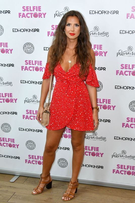 CHARLOTTE TYLER at Selfie Factory Westfield Launch Party in London 07/31/2019