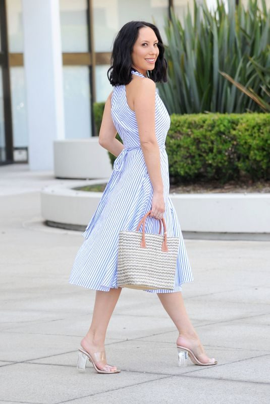 CHERYL BURKE Out and About in Los Angeles 08/13/2019
