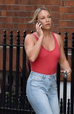 CHLOE MADELEY Out and About in London 08/09/2019