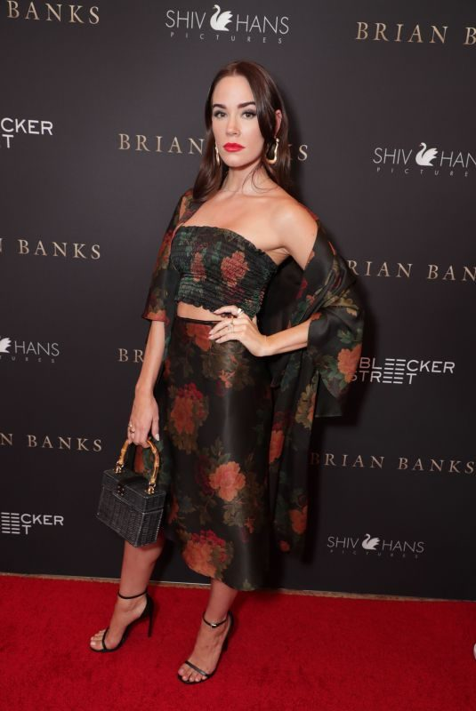 CHRISTA B ALLEN at Bleecker Street Los Angeles Special Screening of Brian Banks in Long Beach 07/31/2019