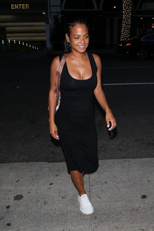 CHRISTINA MILIAN at Madeo Restaurant in Beverly Hills 08/08/2019