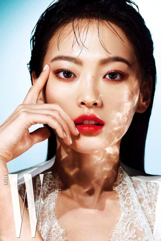 CHUN WOO HEE in W Magazine, Korea July 2019