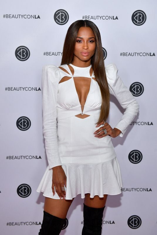 CIARA at Beautycon Festival 2019 in Los Angeles 08/10/20