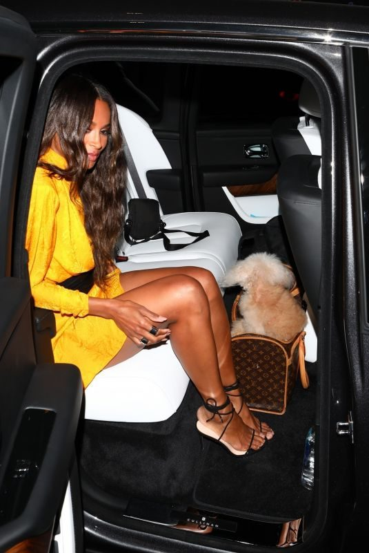 CIARA at Nobu Restaurant in Los Angeles 08/07/2019
