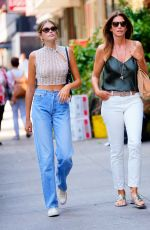 CINDY CRAWFORD and KAIA GERBER Out in Los Angeles 08/22/2019