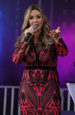 CLAIRE SWEENEY Performs at Sunshine Festival in Upton Severn 08/25/2019