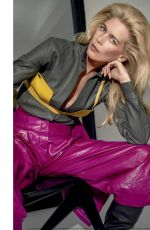 CLAUDIA SCHIFFER and STEPHANIE SEYMOUR in Vogue Magazine, Italy August 2019
