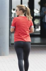 COLEEN ROONEY out for Ice Cream in Hampshire 08/06/2019