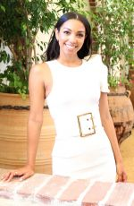 CORINNE FOXX at 47 Meters Down: Uncaged Press Conference in Los Angeles 08/18/2019