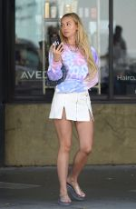 CORINNE OLYMPIOS Out and About in Los Angeles 08/12/2019