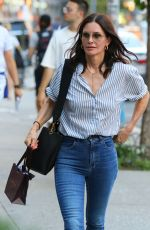 COURTENEY COX and Johnny McDaid Out in New York 08/12/2019