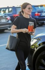 COURTENEY COX Leaves a Spa in Beverly Hills 08/20/2019