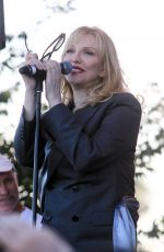 COURTNEY LOVE Performs at Yola Dia in Los Angeles 08/18/2019