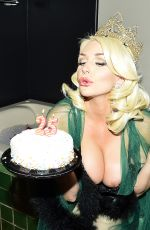 COURTNEY STODDEN in Binini Celebrates Her 25th Birthday at Her Hollywood Hills Residence 08/28/2019