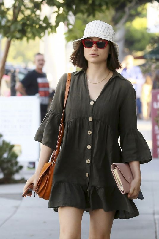 CRYSTAL REED Out and About in Los Angeles 07/30/2019