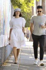 CRYSTAL REED Out Shopping in Los Angeles 08/12/2019