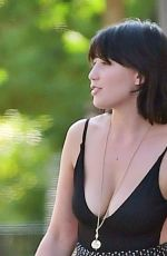 DAISY LOWE Out and About in London 08/28/2019