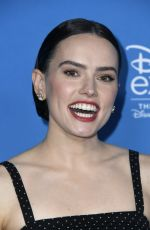 DAISY RIDLEY at D23 Expo in Anaheim 08/24/2019