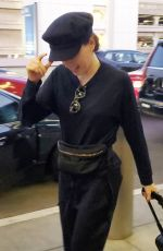 DAISY RIDLEY at LAX Airport in Los Angeles 08/26/2019