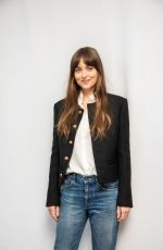 DAKOTA JOHNSON at The Peanut Butter Falcon Press Conference in Los Angeles 08/02/2019