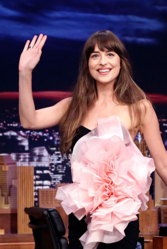 DAKOTA JOHNSON at Tonight Show Starring Jimmy Fallon 08/06/2019