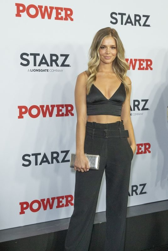 DANIELLE KNUDSON at Power Final Season Premiere at Madison Square Garden in New York 08/20/2019