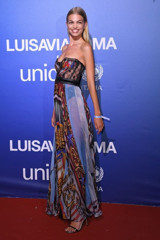 DAPHNE GROENEVELD at Unicef Summer Gala Presented by Luisaviaroma in Porto Cervo 08/09/2019