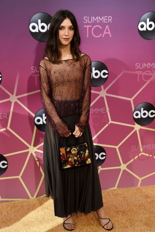 DENYSE TONZ at ABC's TCA Summer Press Tour in West Hollywood 08/05/2019