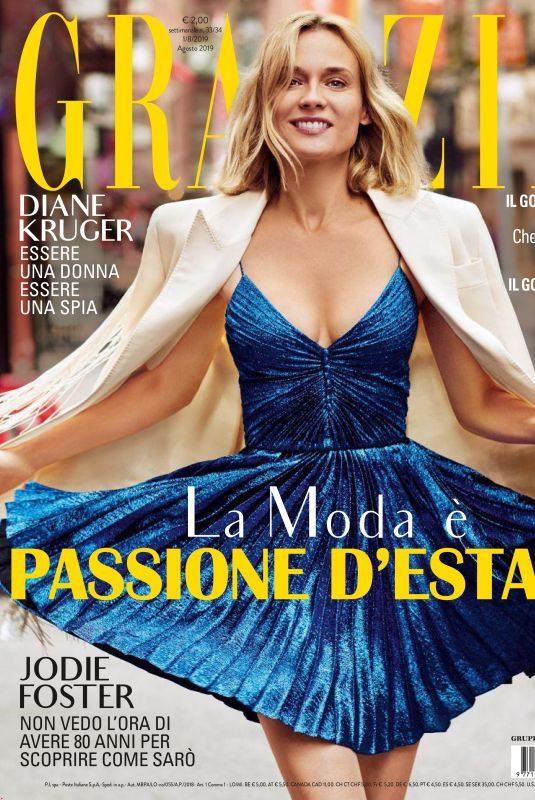 DIANE KRUGER in Grazia Magazine, Italy August 2019