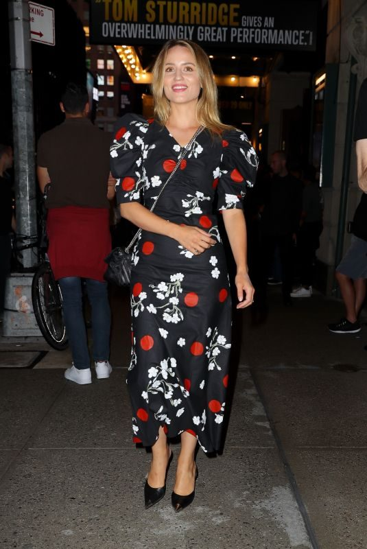 DIANNA AGRON Arrives at Broadway in New York 08/08/2019
