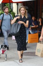 DIANNA AGRON Out and About in New York 08/16/2019