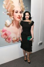 DITA VON TEESE at World of Wonder Hosts Reception for Franz Szony in Hollywood 08/09/2019