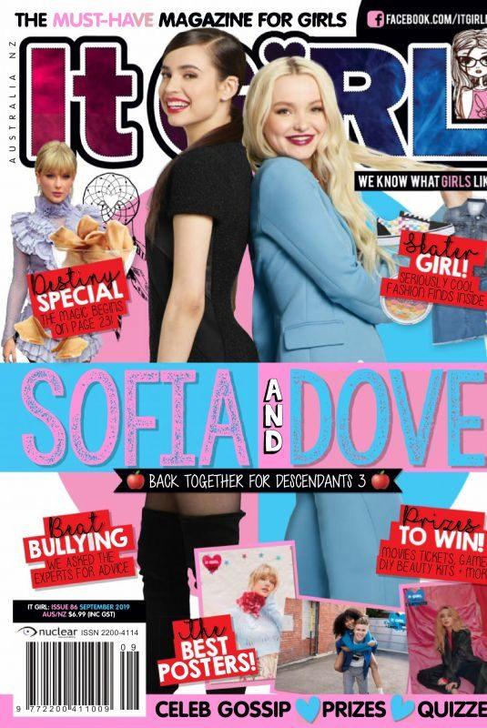 DOVE CAMERON and SOFI CARSON in It Girl Magazine, September 2019