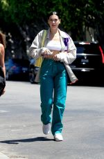 DUA LIPA Out and About in West Hollywood 08/14/2019