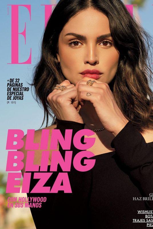 EIZA GONZALEZ in Elle Magazine, Mexico September 2019