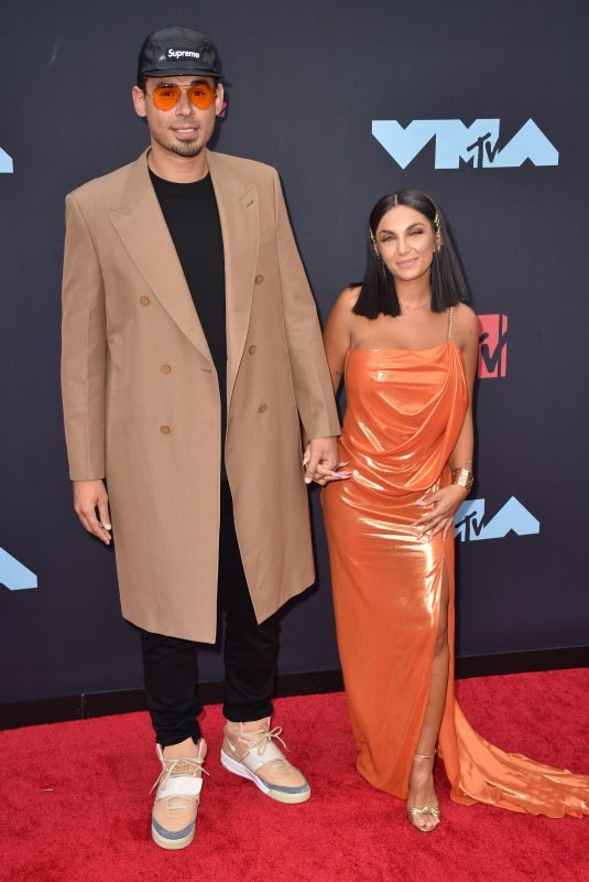 ELETTRA LAMBORGHINI and Afrojack at 2019 MTV Video Music Awards in Newark 08/26/2019
