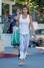 ELISABETTA CANALIS Shopping at Bristol Farms in Beverly Hills 08/16/2019