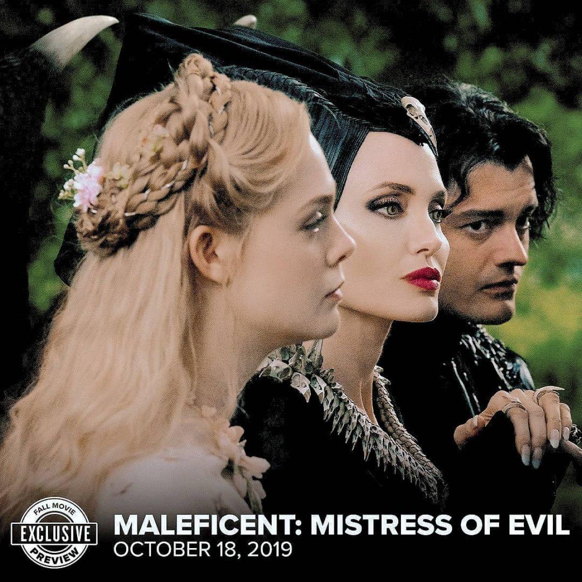 Elle Fanning Maleficent Mistress Of Evil Poster Trailer