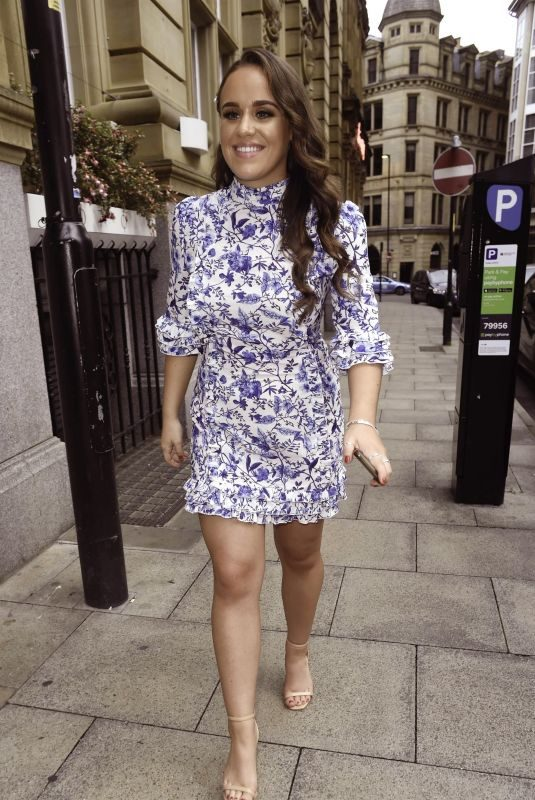 ELLIE LEACH at Brooke Vincent's Baby Shower in Manchester 08/04/2019