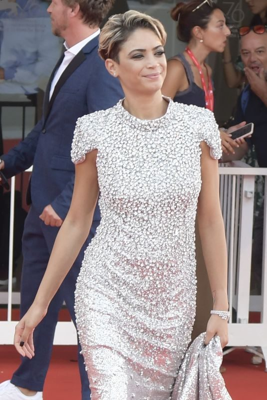 ELODIE at Marriage Story Premiere at 2019 Venice Film Festival 08/29/2019