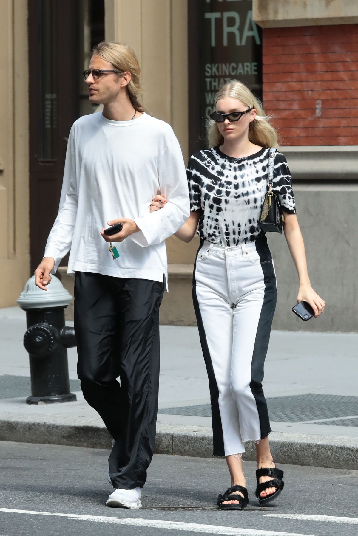 ELSA HOSK and Tom Daly Out in New York 08/21/2019 - HawtCelebs