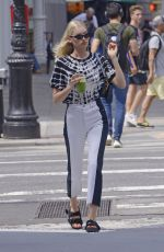 ELSA HOSK Out for Lunch at Il Buco in New York 08/21/2019