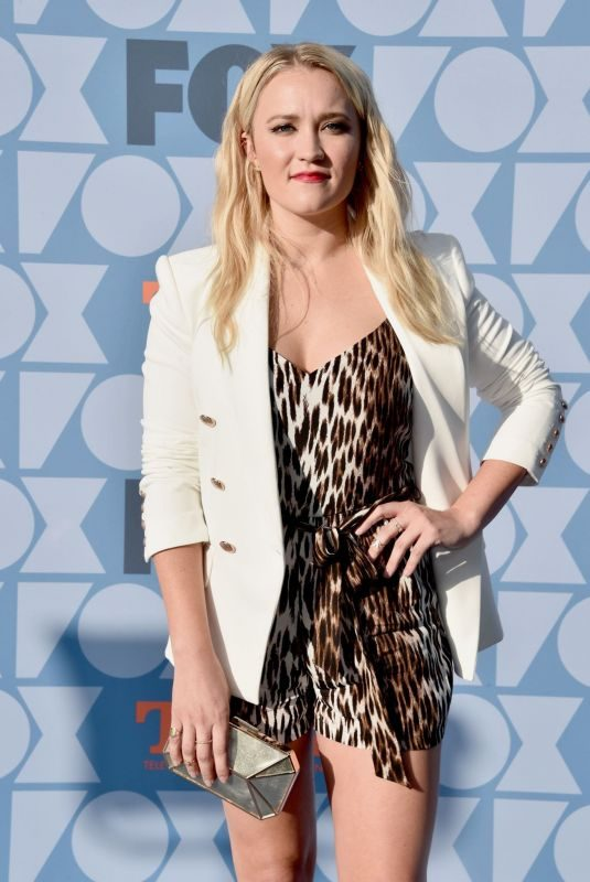 EMILY OSMENT at Fox Summer TCA All-star Party in Beverly Hills 08/07/2019