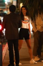 EMILY RATAJKOWSKI Night Out in West Hollywood 08/08/2019