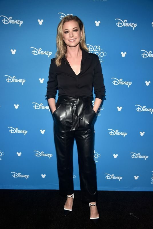 EMILY VANCAMP at D23 Disney+ Event in Anaheim 08/23/2019