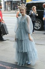 EMMA NELSON Arrives at Her Hotel in New York 08/13/2019