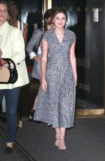 EMMA NELSON Arrives to Today Show in New York 08/12/2019
