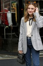EMMA NELSON Leaves Bowery Hotel in New York 08/13/2019