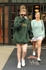 EMMA NELSON Leaves Her Hotel in New York 08/13/2019