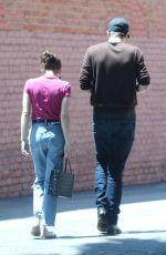 EMMA ROBERTS and Garrett Hedlund Out in Los Feliz 08/09/2019